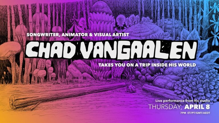 Chad VanGaalen Live Stream Performance