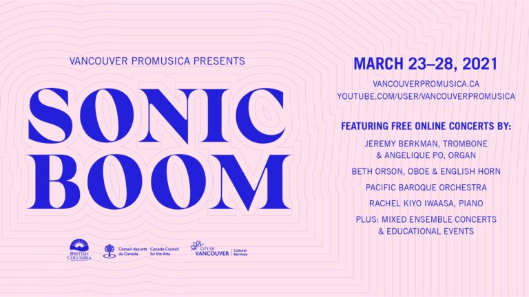 Sonic Boom Online Music Festival: March 23-28